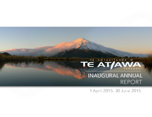 TKOTA Annual Report – 2015